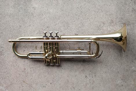 Repaired Trumpet
