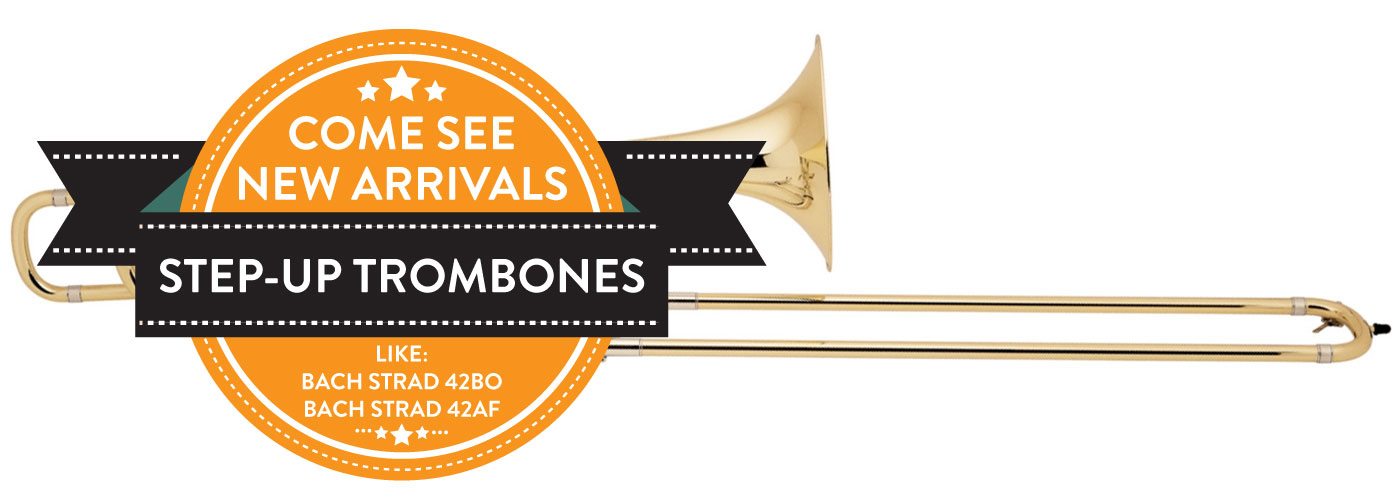 Step-Up Trombones with 0% Interest