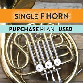 Single F Horn