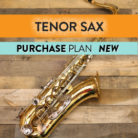 New Tenor Saxophone